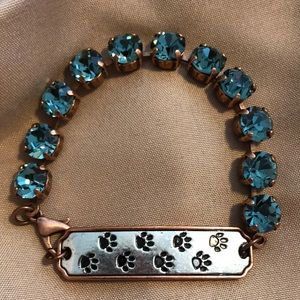 Bracelet for the dog lover.  NEW